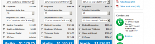 How to Calculate International Health Insurance Quotes